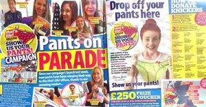 That's Life Magazine takes the Mumba Children's Project Knicker Campaign National