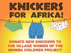 Knickers for Mpongwe ~ Africa