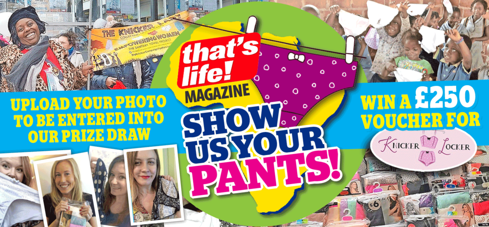 Show us your pants - That's Life Magazine National Campaign