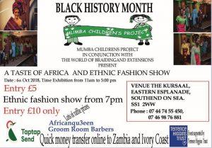 A Taste of Africa & Ethnic Fashion Show